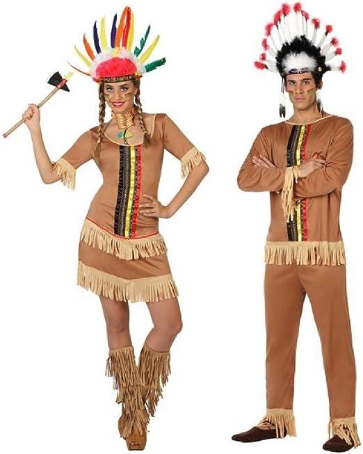 Fancy Me Disfraz de Carnaval Nativo Americano para Parejas y ...