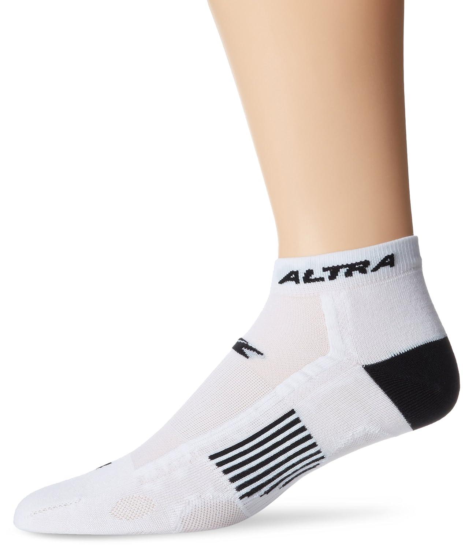 Altra Endurer Anatomical Quarter Socks White//Black Medium Altra Apparel AS423