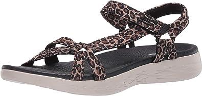 Amazon Com Skechers Women S On The Go 600 Sport Sandal Sport Sandals Slides