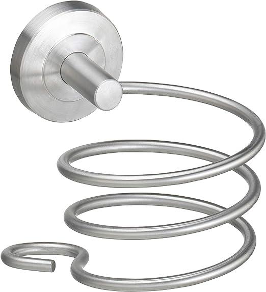 Haartrocknerhalter Edelstahl Haartrocknerhalterung Durchmesser 8 cm
