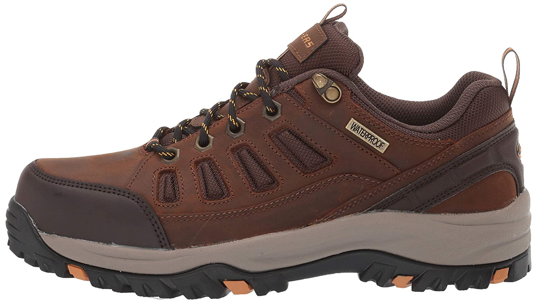 Skechers Mens Relment-semego Waterproof Hiker Lo Hiking Shoe