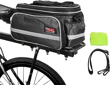 Amazon.com: Arltb, bolsa trasera para bicicleta (3 colores ...