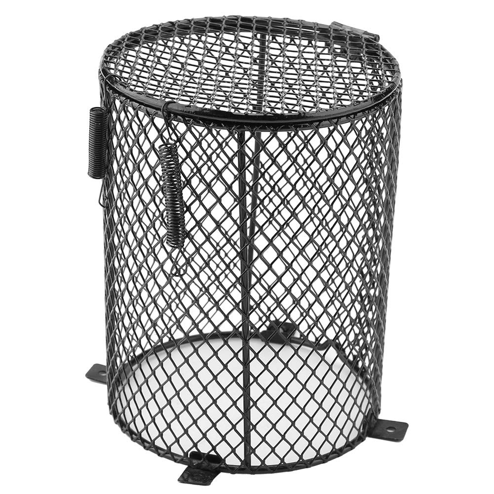 Buy Heater Guard, Reptile Heating Lamp Lampshade Anti-Scald Lamp Mesh Cover  Day Night Ceramic Light Bulb Enclosure Cage Protector for Feeding Box in  Case Scald (Cylinder) Online at Low Prices in India -