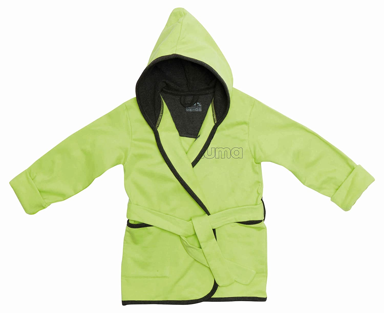 LUMA Babycare L01605 Bademantel Lime Green