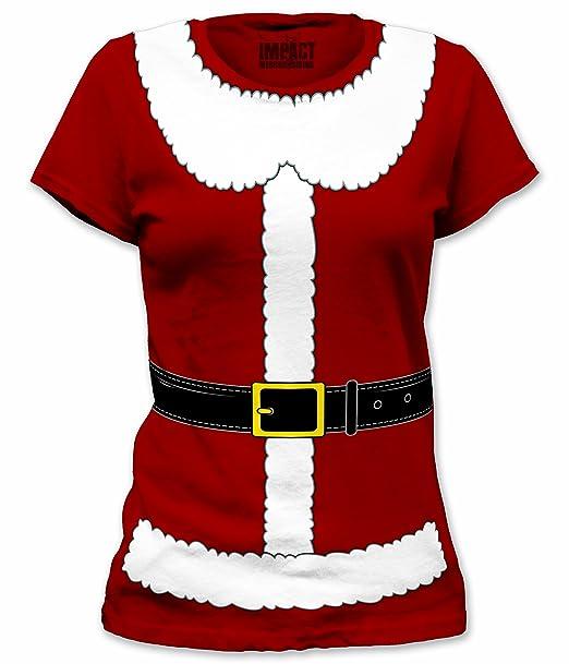 Amazon.com: Mrs. Santa Claus Traje Disfraz de T Shirt para ...