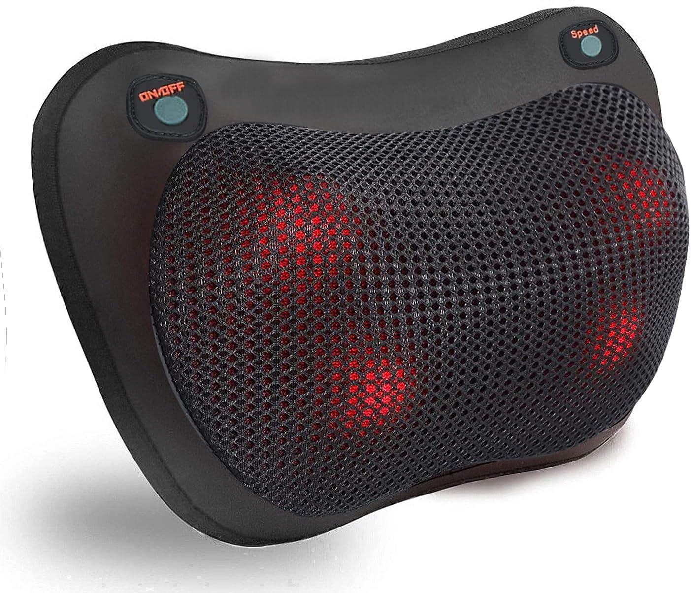 Masajeador cervical YongGe con calor y rotación 3D por 20,34€ usando el #código: FYSBYIS2