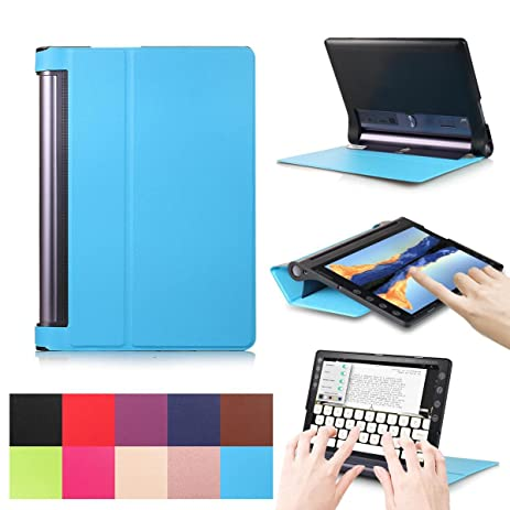 Amazon.com: Lenovo YOGA Tab 3 Plus / Pro Case, [Multi-angle ...