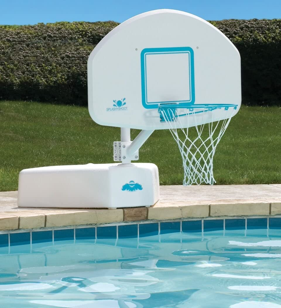 Amazon.com: Dunnrite Splash and Shoot Swimming Pool Basketball ...