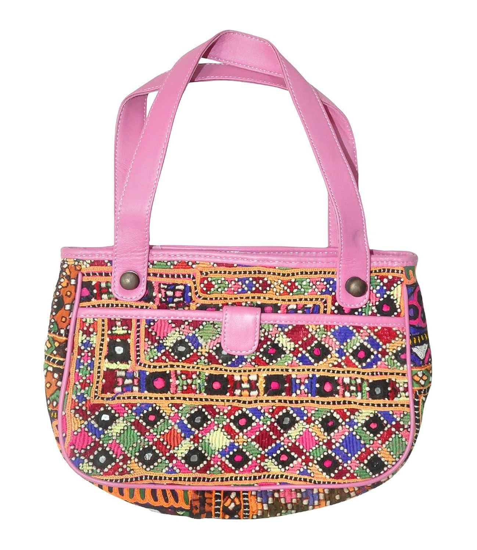 Indian Cross Body Leather Shoulder Bag For Girls