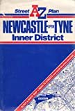A-Z Street Map of Newcastle Upon Tyne Inner District