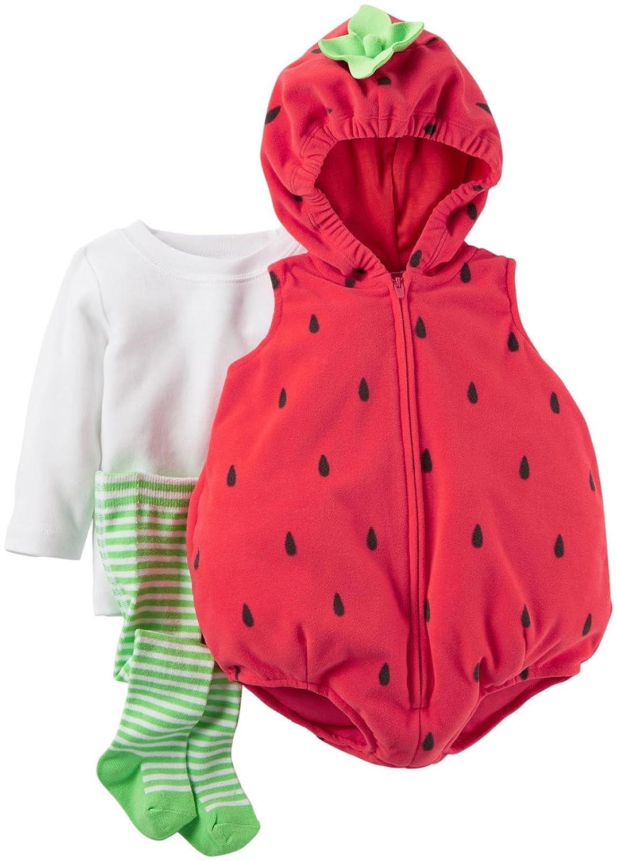 amazoncom carters strawberry costume baby 24 months baby - Strawberry Halloween Costume Baby