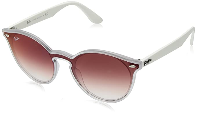 RAY-BAN 6357V0 Gafas de sol, Matte Transparente, 45 Unisex