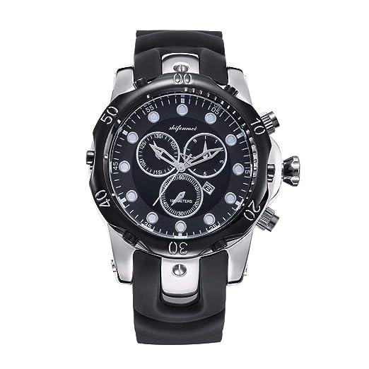HWCOO Hermosos Relojes De Madera Reloj de Pulsera de Cuarzo para Hombre Reloj de Pulsera para Nadar (Color : 1): Amazon.es: Relojes