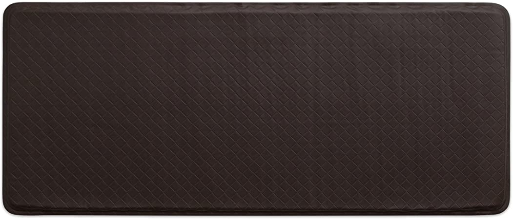 Gelpro Classic Anti Fatigue Kitchen Comfort Chef Floor Mat 20x48 Basketweave Truffle Stain Resistant Surface With 1 2 Gel Core For Health And Wellness Kitchen Dining
