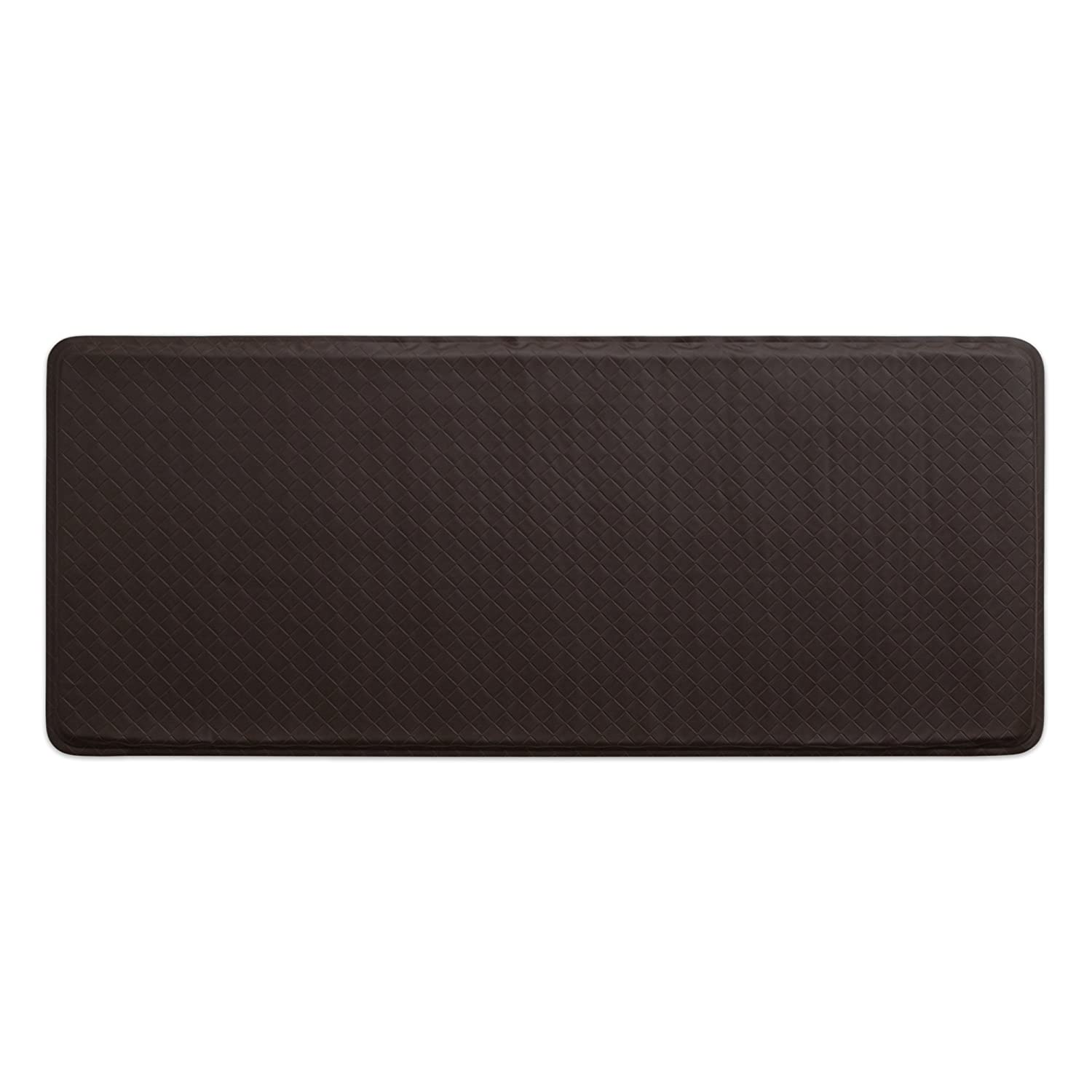 """GelPro Classic Anti-Fatigue Kitchen Comfort Chef Floor Mat, 20x48"""", Basketweave Truffle Stain Resistant Surface with 1/2"""" Gel Core for Health and Wellness"""