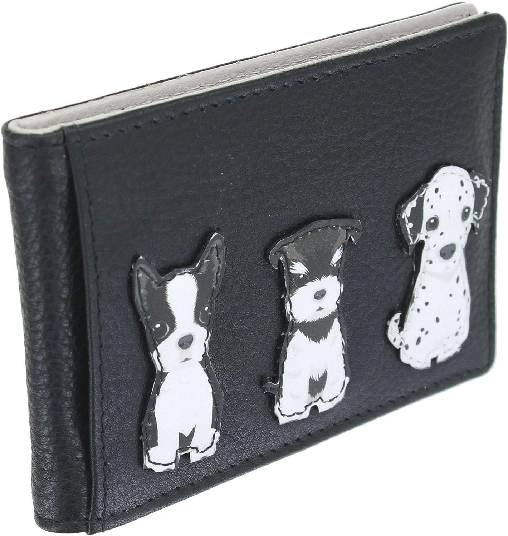 Mala Leather 647/_65 Porte-bas de voyage en cuir Collection Best Friends Noir - 647/_65 Noir