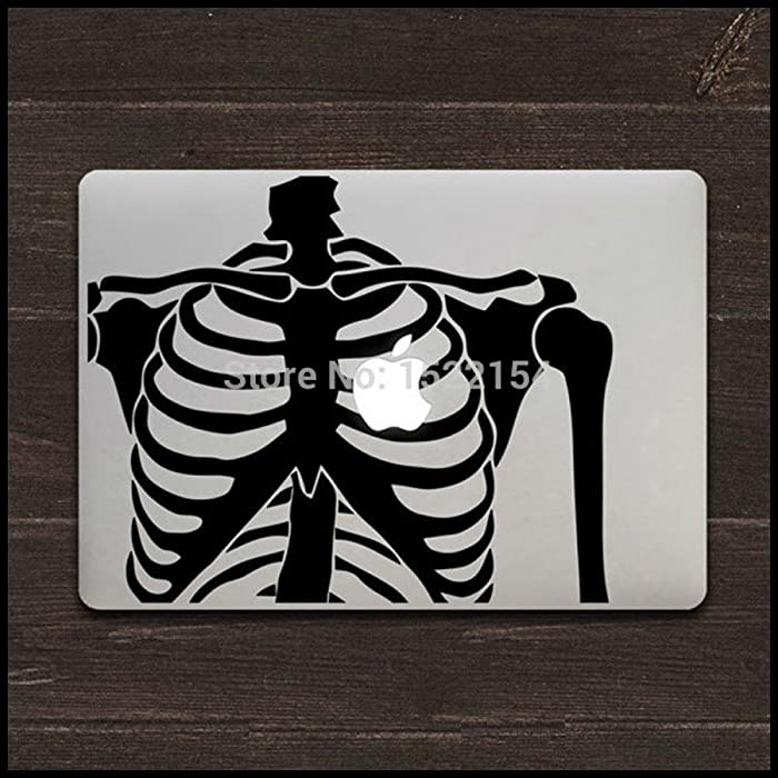Circle Love Computer Decals Human Body Skeleton Laptop Skin Sticker For Macbook Air Pro 11 13 15 Decal Vinyl Mac Case Cover Decor Adesivo Pegatina Para Macb
