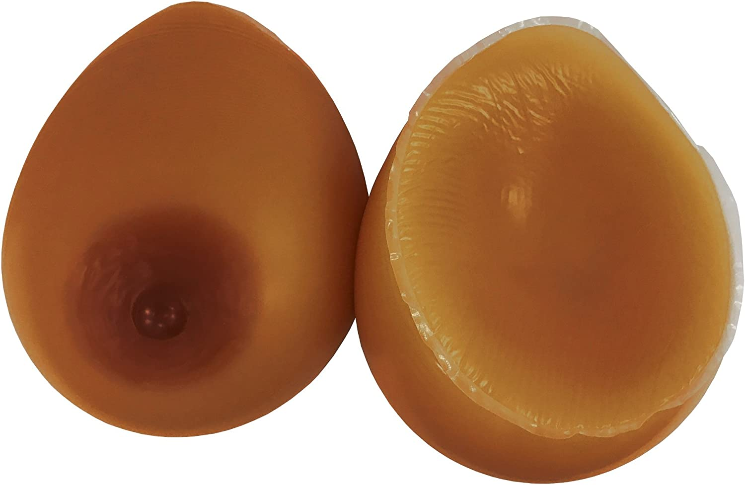 ENVY BODY SHOP Rounder Fuller Concave Back Tear Drop Silicone Breast Forms
