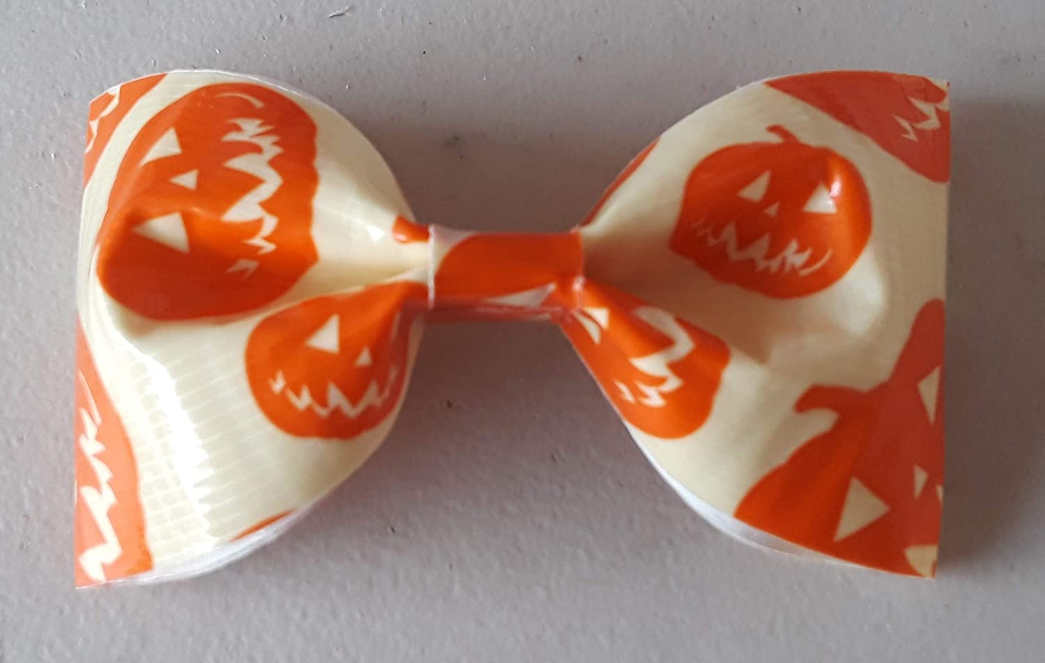 Jack o Lantern Pumpkin Glow in the Dark Halloween Bobby Pin Hair Bow or Bow Tie