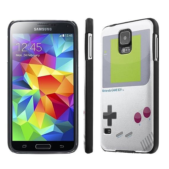 half off 2054e dfef1 Amazon.com: NakedShield Samsung Galaxy S5 (Game Boy) SLIM Art Phone ...