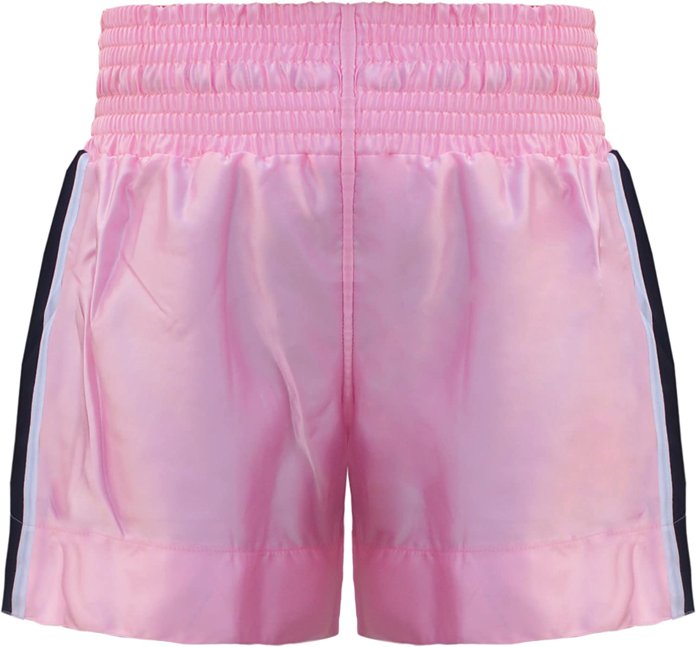 FARABI Muay Thai Color Rosa Pantalones Cortos Talla XL