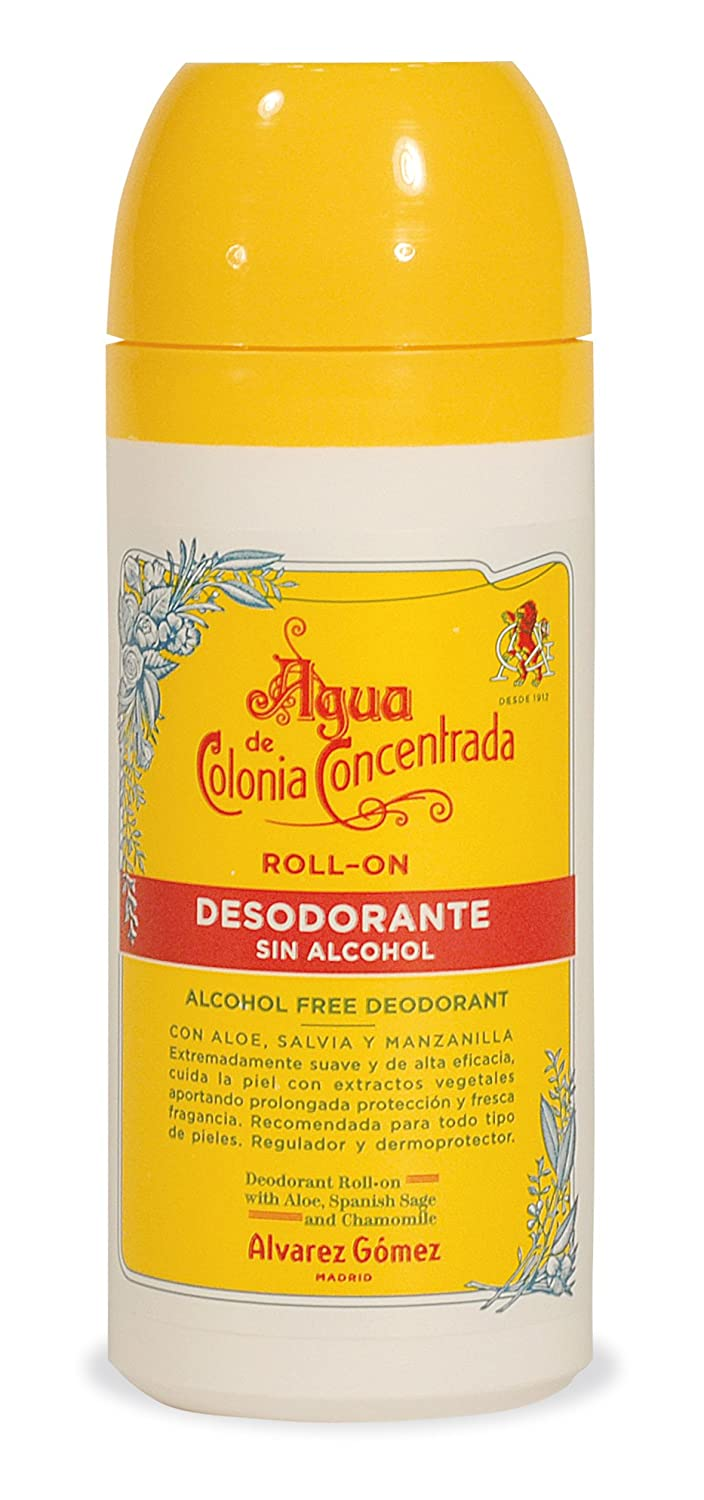 Amazon.com : Alvarez Gomez Agua De Colonia Concentrate for Men Roll On Deodorant, 2.53 Ounce : Deodorants : Beauty