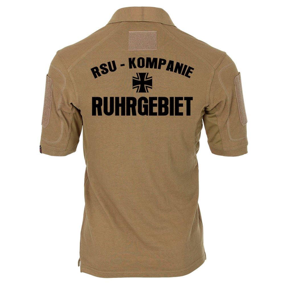 Copytec Tactical Poloshirt Alfa - RSU Kp Ruhrgebiet Regionale Sicherungs- Kompanie und Unterstützungskräfte Kompanie Sicherungs- Bundeswehr  19027 231ce8
