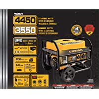 Firman Power Equipment P03501 Gas Powered 3550/4450 Watt (Performance Series)