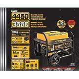 FIRMAN Power P03501 Performance Series Generator 3550 Watts Standard
