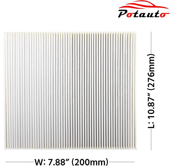 300 POTAUTO MAP 1031W DODGE Challenger Charger Standard White CF10668 Replacement High Performance Car Cabin Air Filter for CHRYSLER