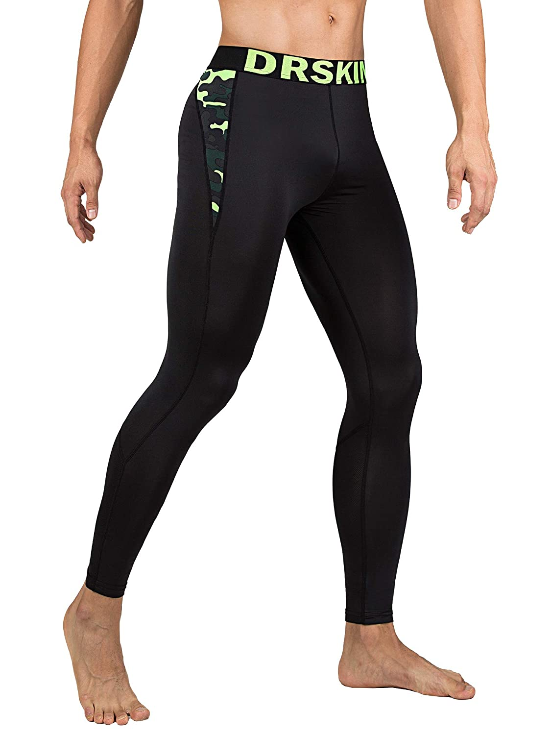 Packs of 1, 2, or 3 Deals DRSKIN 1~3 Pack Men/'s Compression Dry Cool Sports Tights Pants Baselayer Running Leggings Yoga