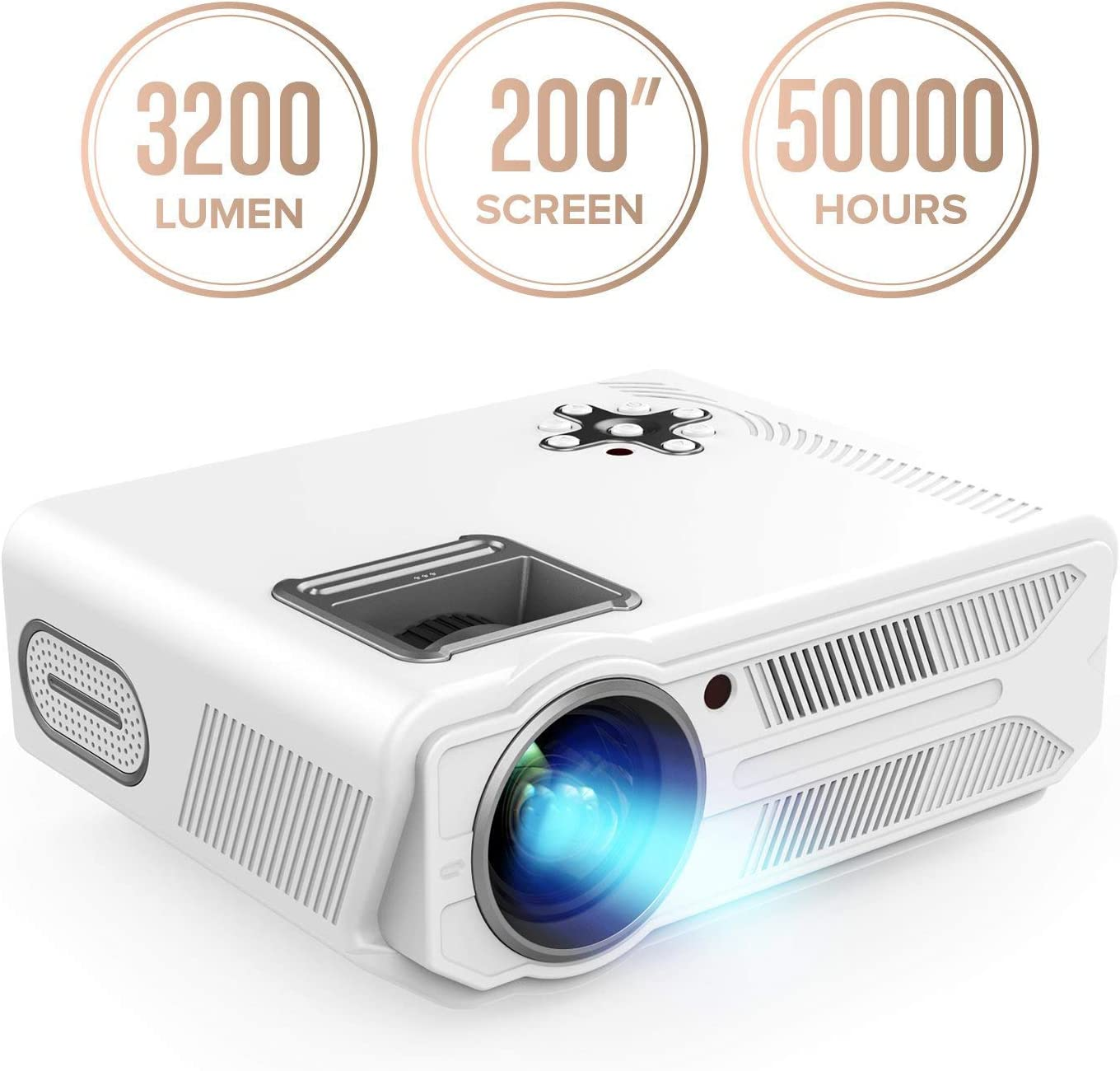 DBPOWER-RD-819-Projector