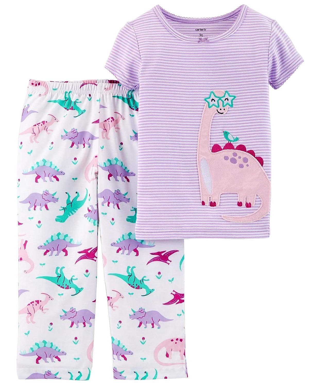 Carters 2-Piece Cotton /& Poly Cute Dinosaur PJ/'s 3T