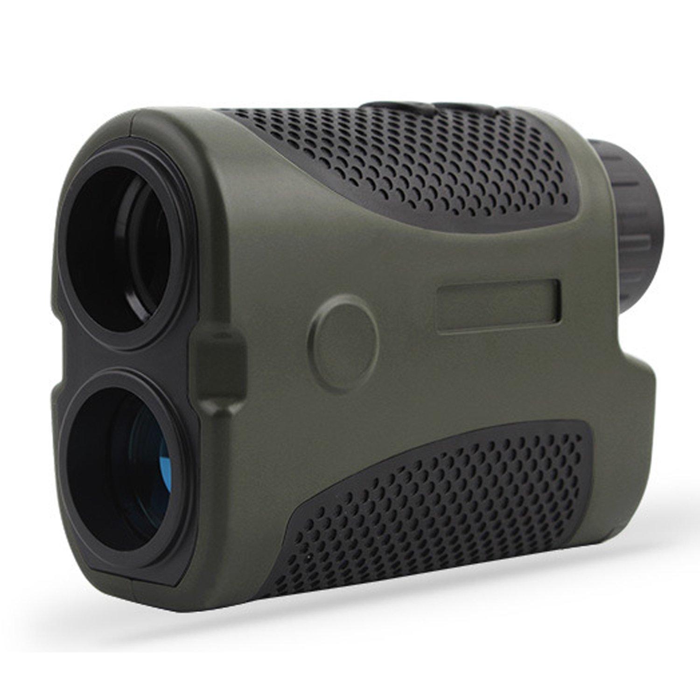 JUFENG Golf Laser Rangefinder, 6X Hunting Laser Range Finder for Hunting, Golf, Engineering Survey - Range: 3-440 Yards