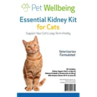 Pet Wellbeing - Essential Kidney Kit for Cats - Support Healthy Kidney Function...