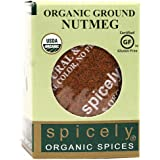 Spicely Organic Nutmeg Ground - Compact