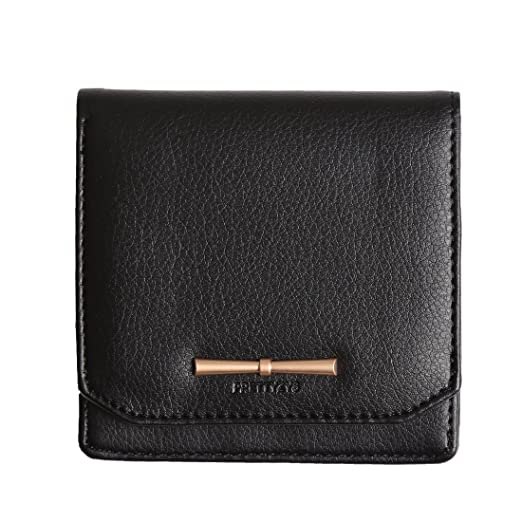 709e1ed4691e Prettyzys Small Wallet Women Zipper Coin Purse Credit Card Holders Leather  Slim Purse For girls (