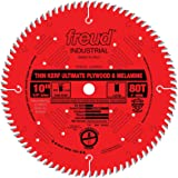 "Freud 10"" x 80T Thin Kerf Ultimate Plywood & Melamine Blade (LU79R010)"