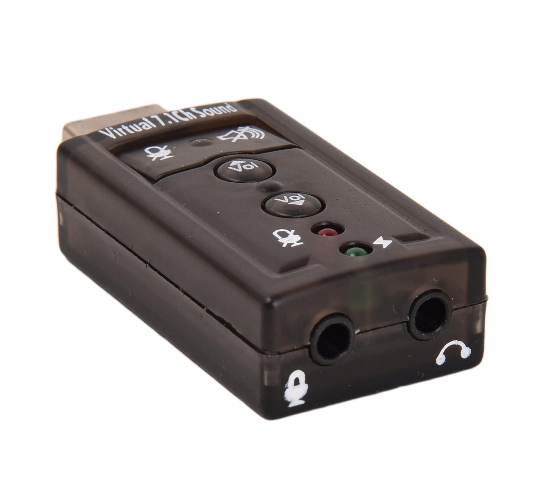 Amazon.com: Storite 7.1 canales adaptador USB Tarjeta de ...