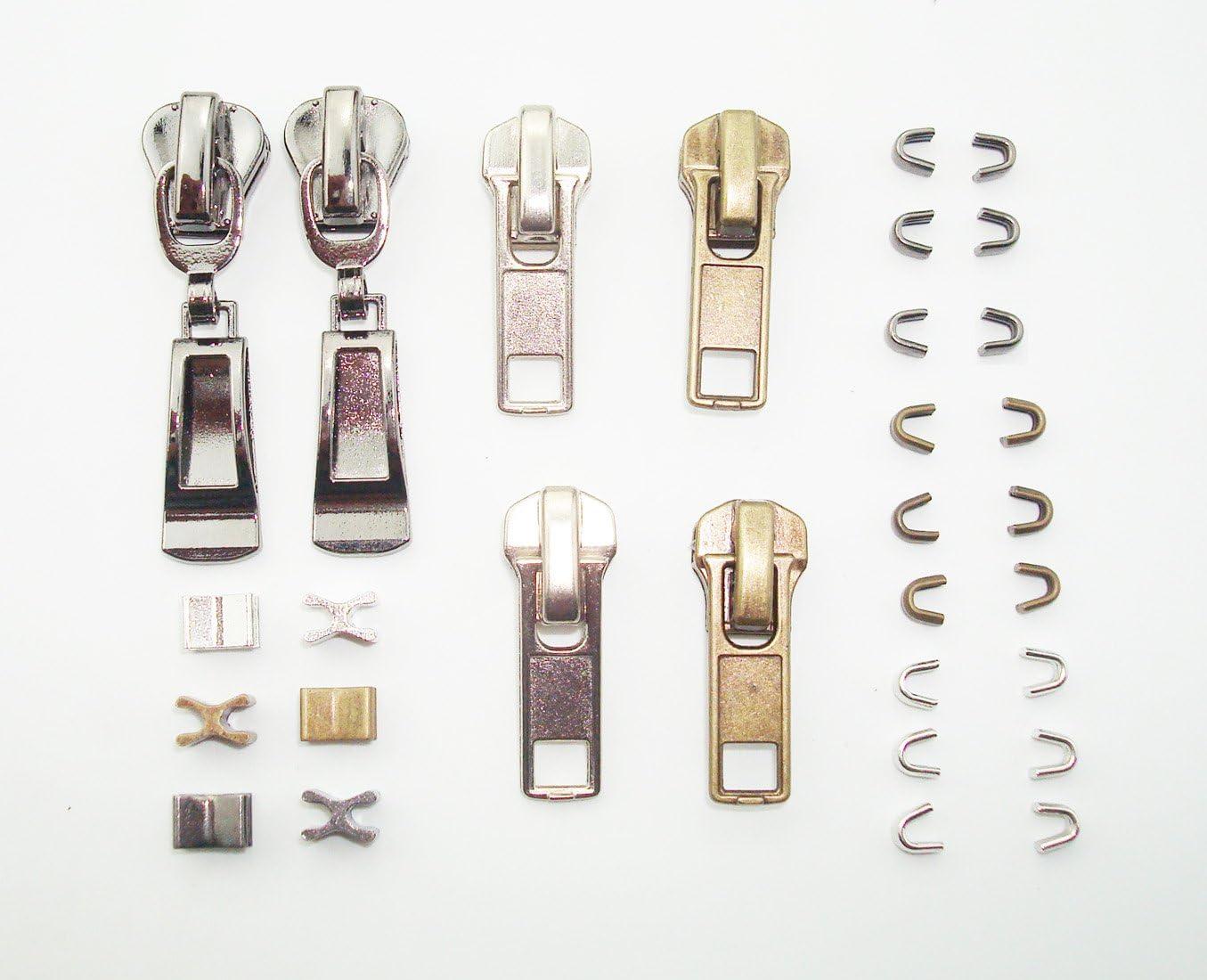 Réparer A Zipper Lot de 6 Fermeture éclair Sauvetage Instant Kit De Réparation