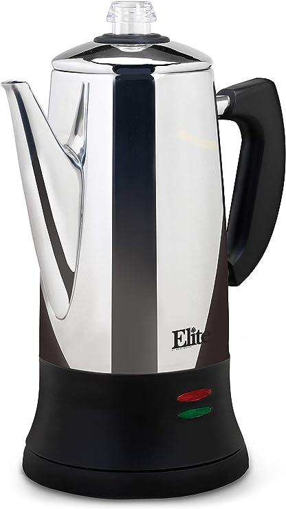 Amazon.com: Elite Platinum EC-120 Maxi-Matic - Percolador de ...