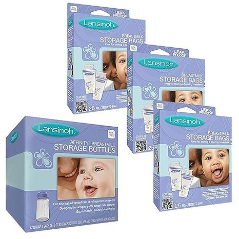 Lansinoh leche materna bolsas de almacenamiento (75 Count ...
