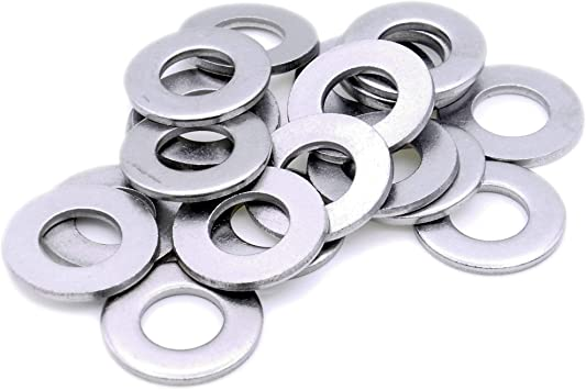 Form A Stainless Steel Flat Washer 20pack M6 6mm