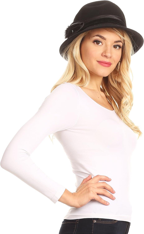 Sakkas Tessa Wool Cloche Flapper Gatsby Hat with Satin Ribbon Adjustable