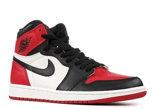 Air Jordan 1 Retro High OG BRED Toe - 555088-610 - Size ...