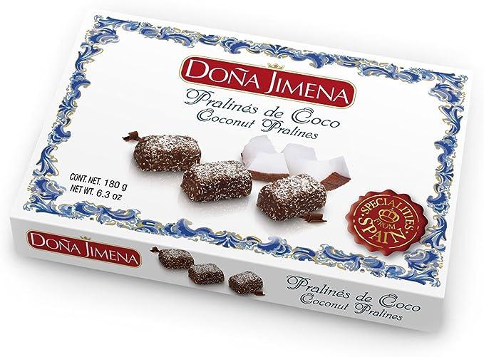Pralinés De Coco Doña Jimena 180G
