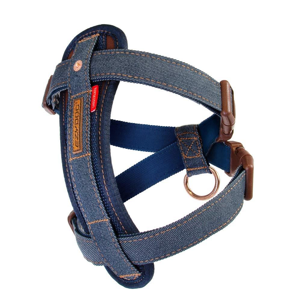 Denim S Denim S EzyDog Chest Plate Harness