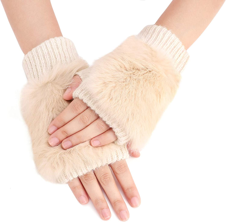 Women Half Finger Gloves...
