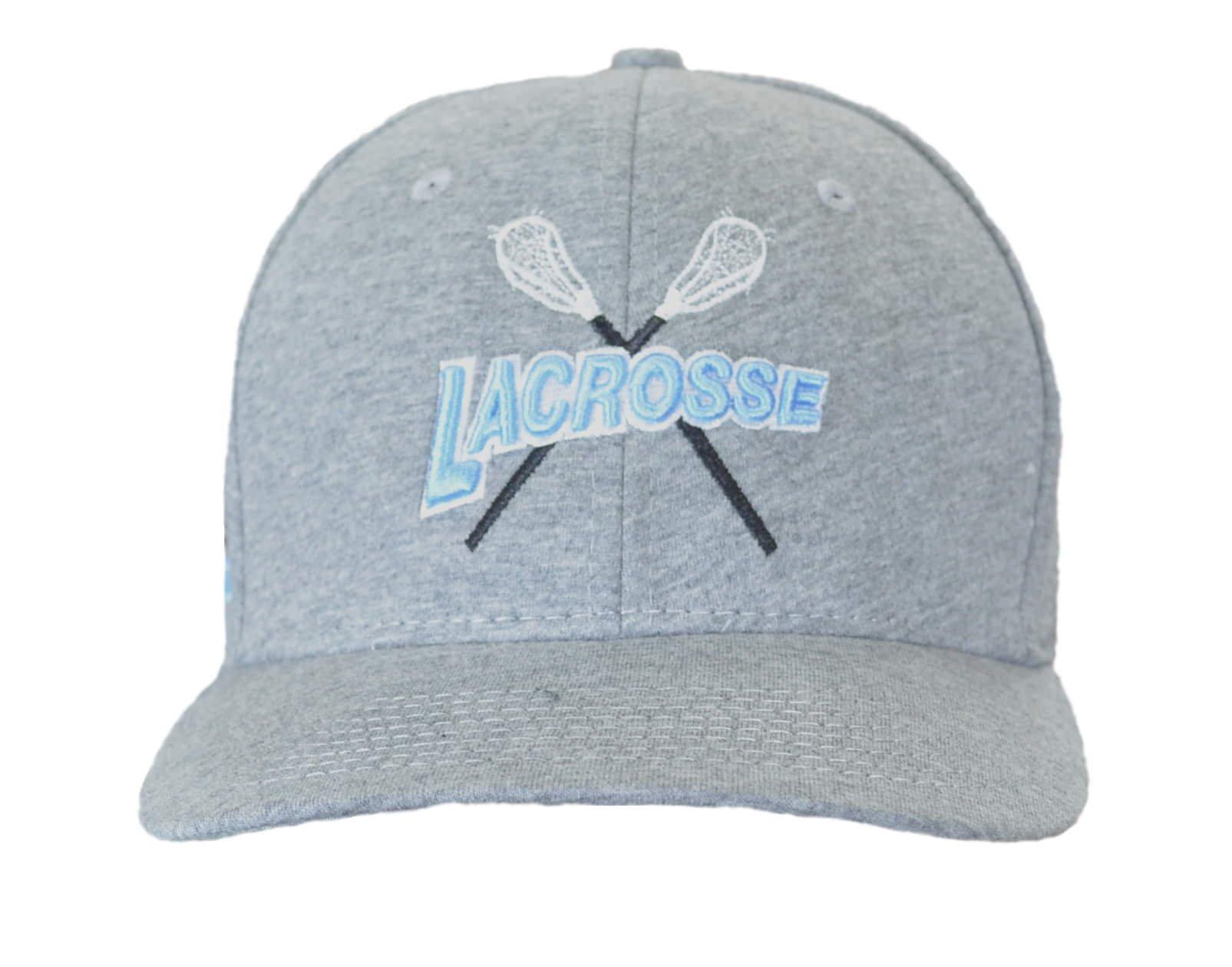 JANT girl Lacrosse Gray and Light Blue Baseball Hat