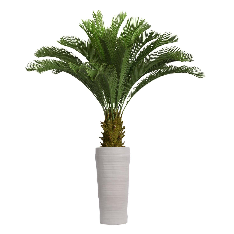 Laura Ashley VHX111218 Cycas Palm Tree Planter, 69''